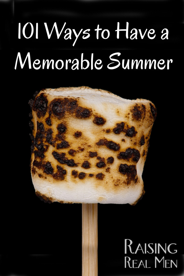 101 Ways to Make Summer Memorable