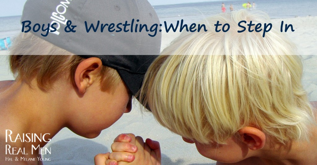 Wrestling When to Step In