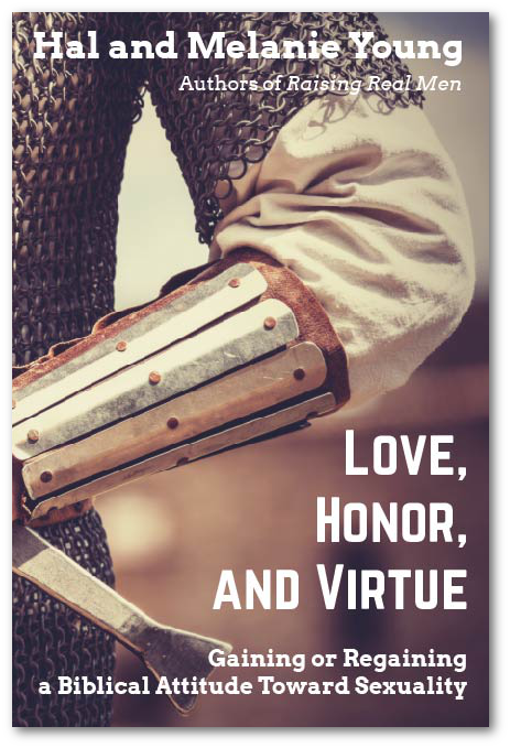 Love, Honor, and Virtue Front with Shadow