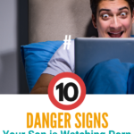 If you are seeing several of these things, then you've probably got real reason for concern. Ten Danger Signs Your Son is Watching Porn #Parenting #Pornography #Teenagers