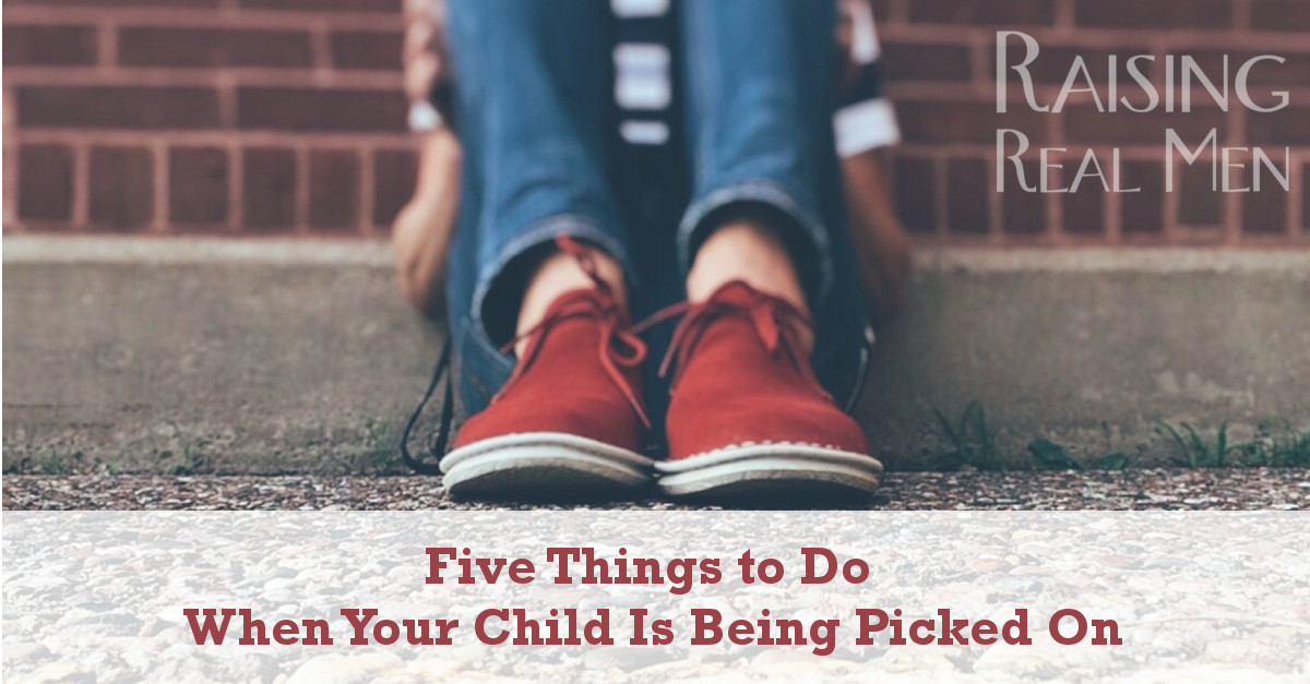 RRM Five Things to Do When Your Child is Being Bullied