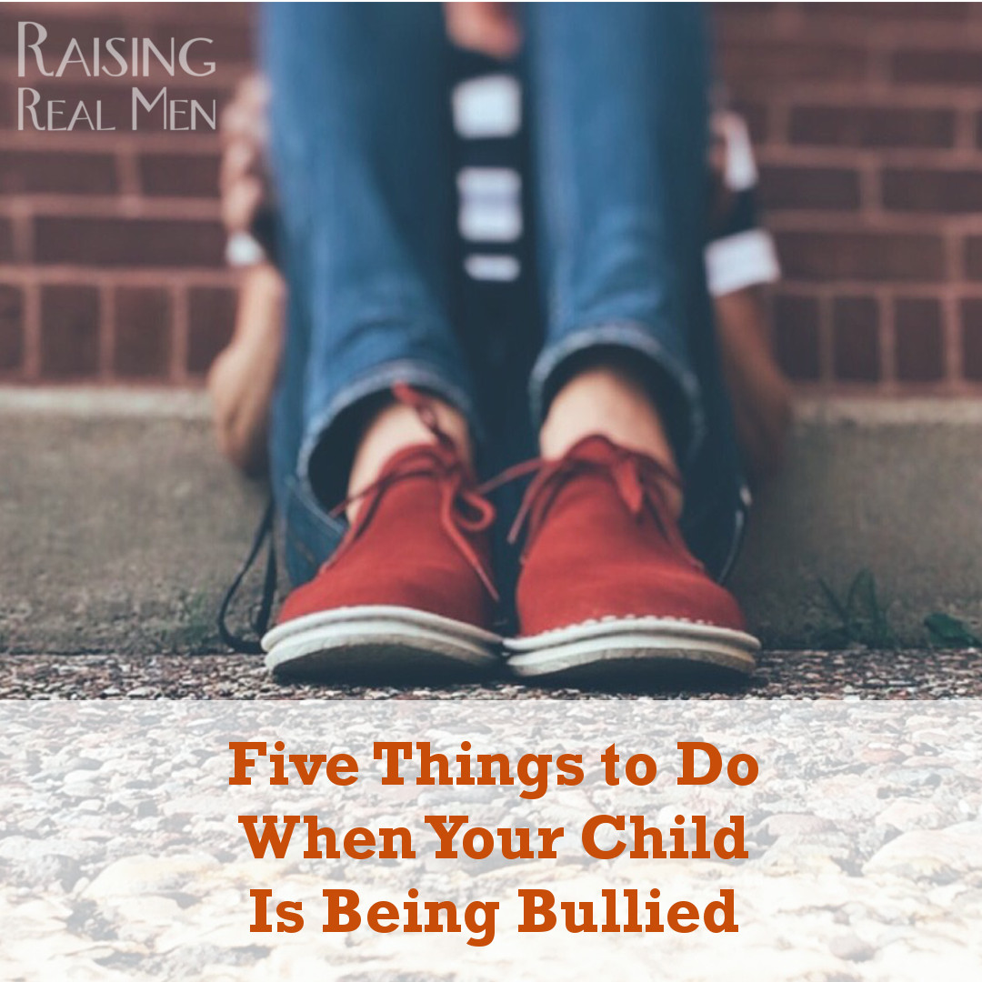 RRM Five Things to Do When Your Kid is Being Bullied S