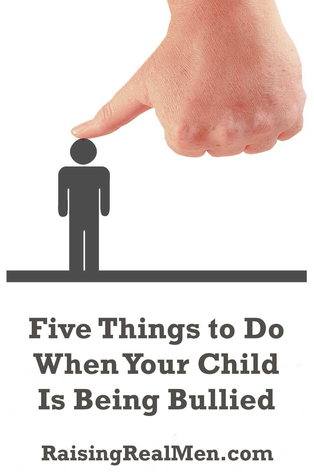 RRM Five Things to Do When Your Kid is Being Picked on V