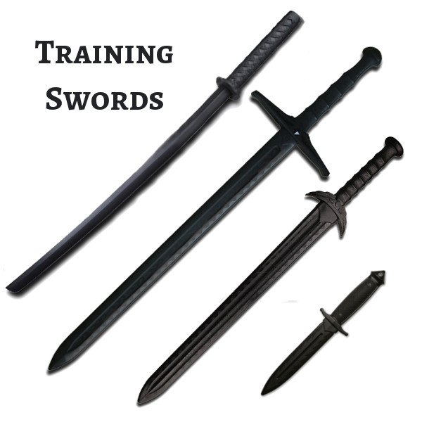 practice swords, training knife, training sword