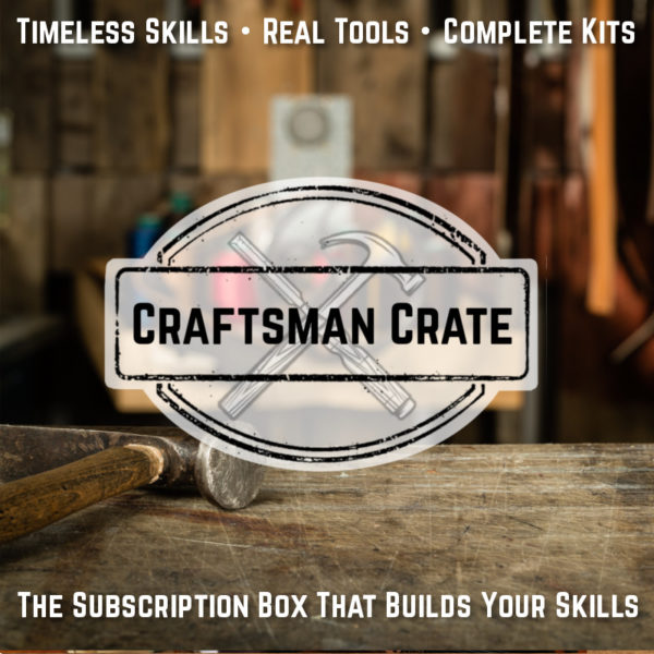 Subscription crate teaching artisanal crafts and skills