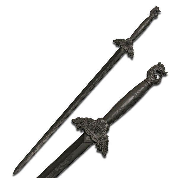 Dragon Black Practice Sword