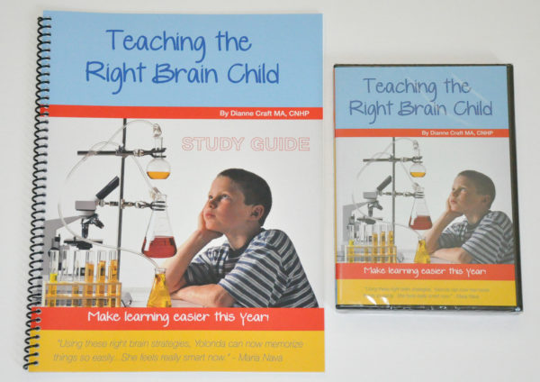 Photo of Teaching the Right-Brained Child DVD and Study Guide